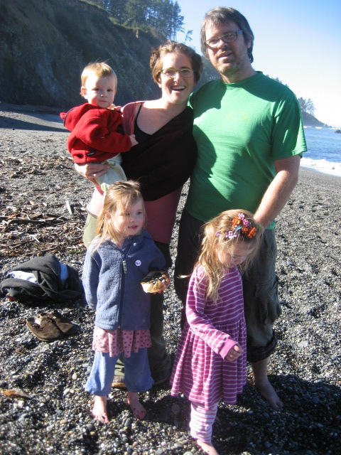 Team Teesdale, Agate Beach, California