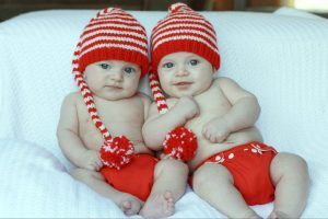 Valentine Christmas Cloth Diapers